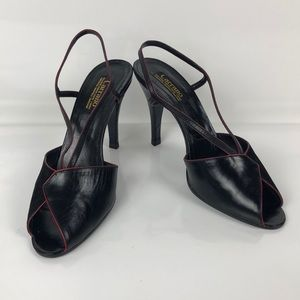 Women's Peep Toe Sling Back 8.5 Medium